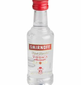 Smirnoff Red mini, Vodka, 37,5%, 50ml