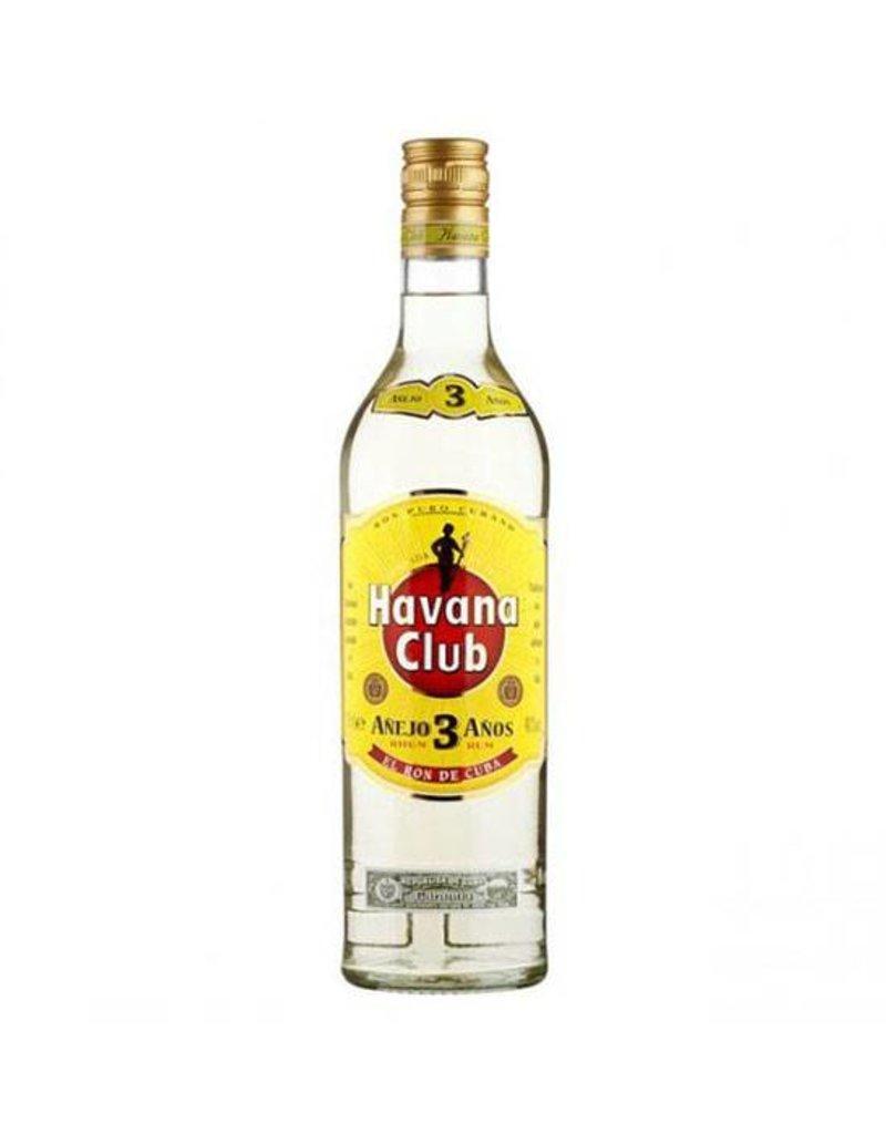 Havana club 3 years, Rum, 40%, 700ml