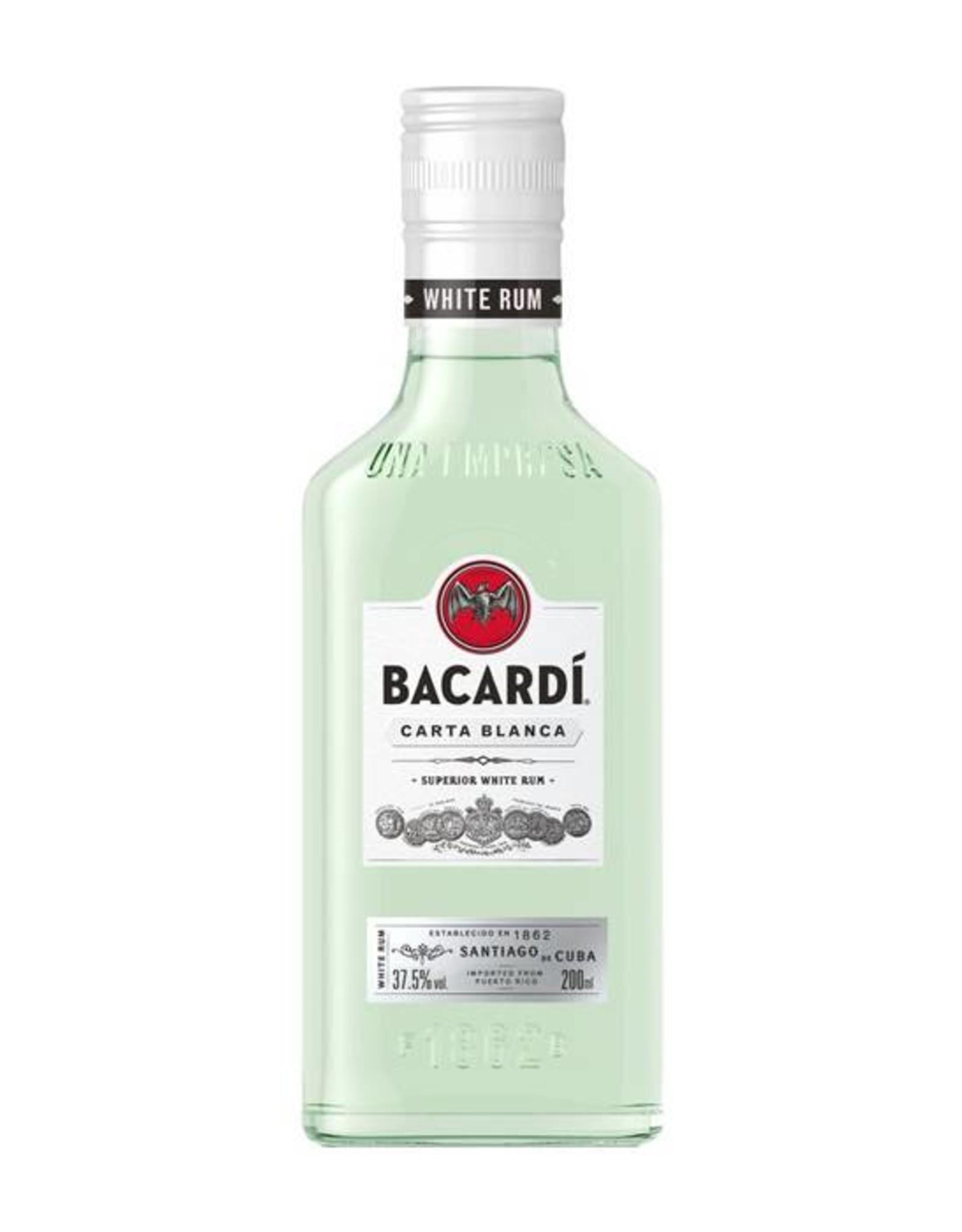 Bacardi Carta Blanca, Rum, 37,5%, 200ml