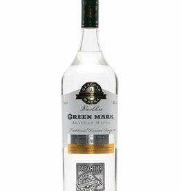 Green Mark Vodka, 38%, 1000 ml
