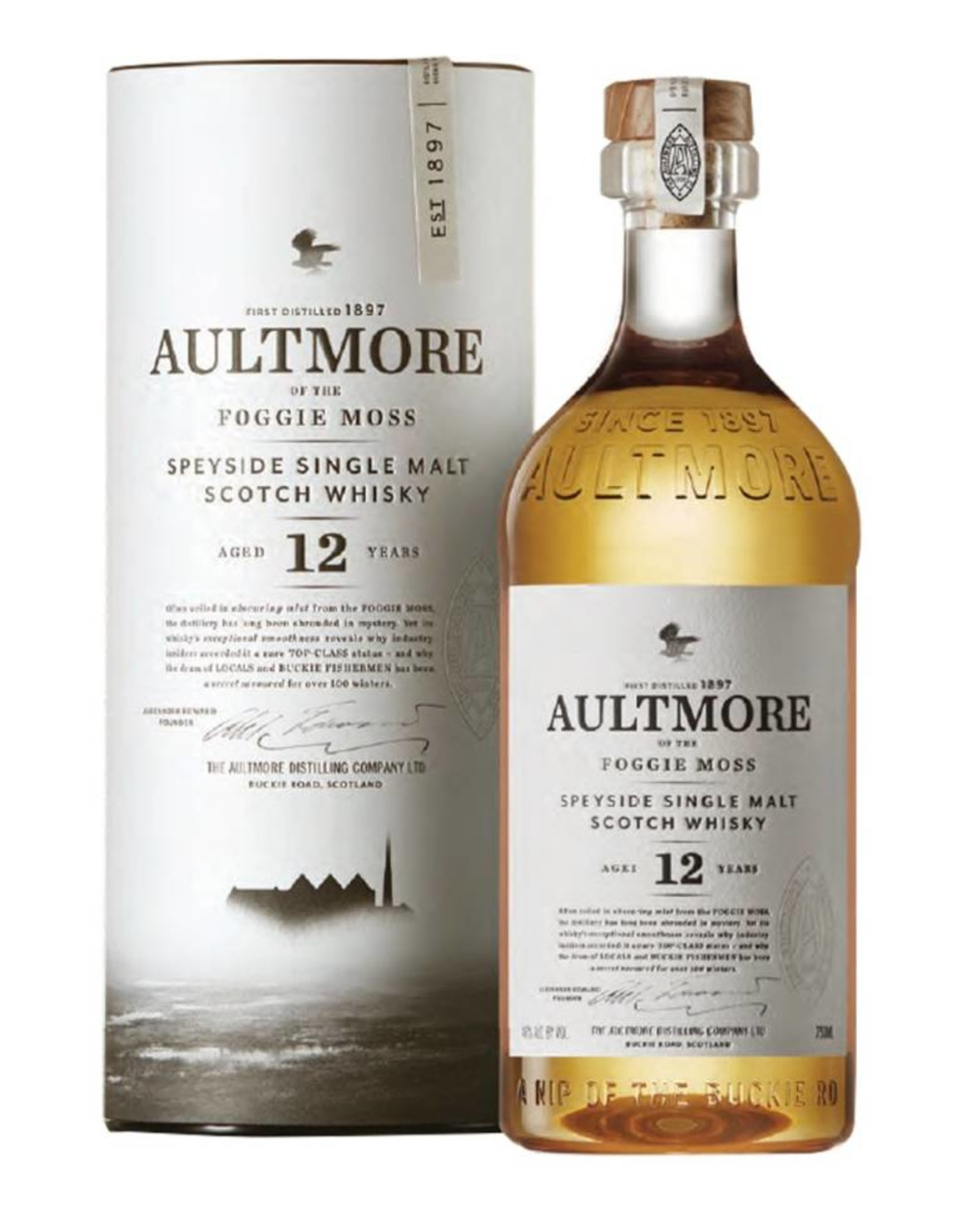 Aultmore, 12Y, Whisky, 46%, 700 ml