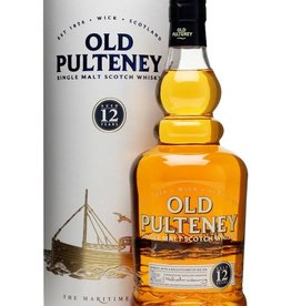 Old Pulteney 12y, Single Malt whisky, 40%, 700 ml