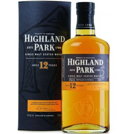 Highland park 12Y, single malt whisky, 40%, 700 ml