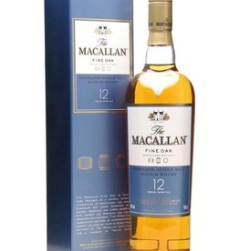 Macallan 12Y Fine Oak New Label, Single Malt, Whisky, 40%, 700 ml