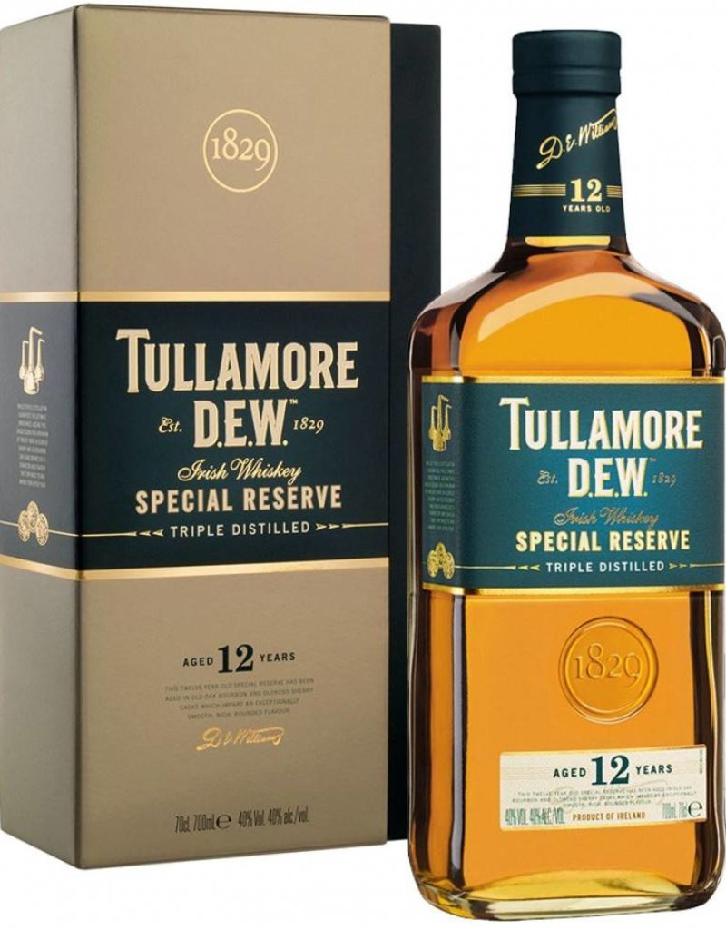 Tullamore Dew 12Y, Single Malt Whisky, 40%, 700 ml