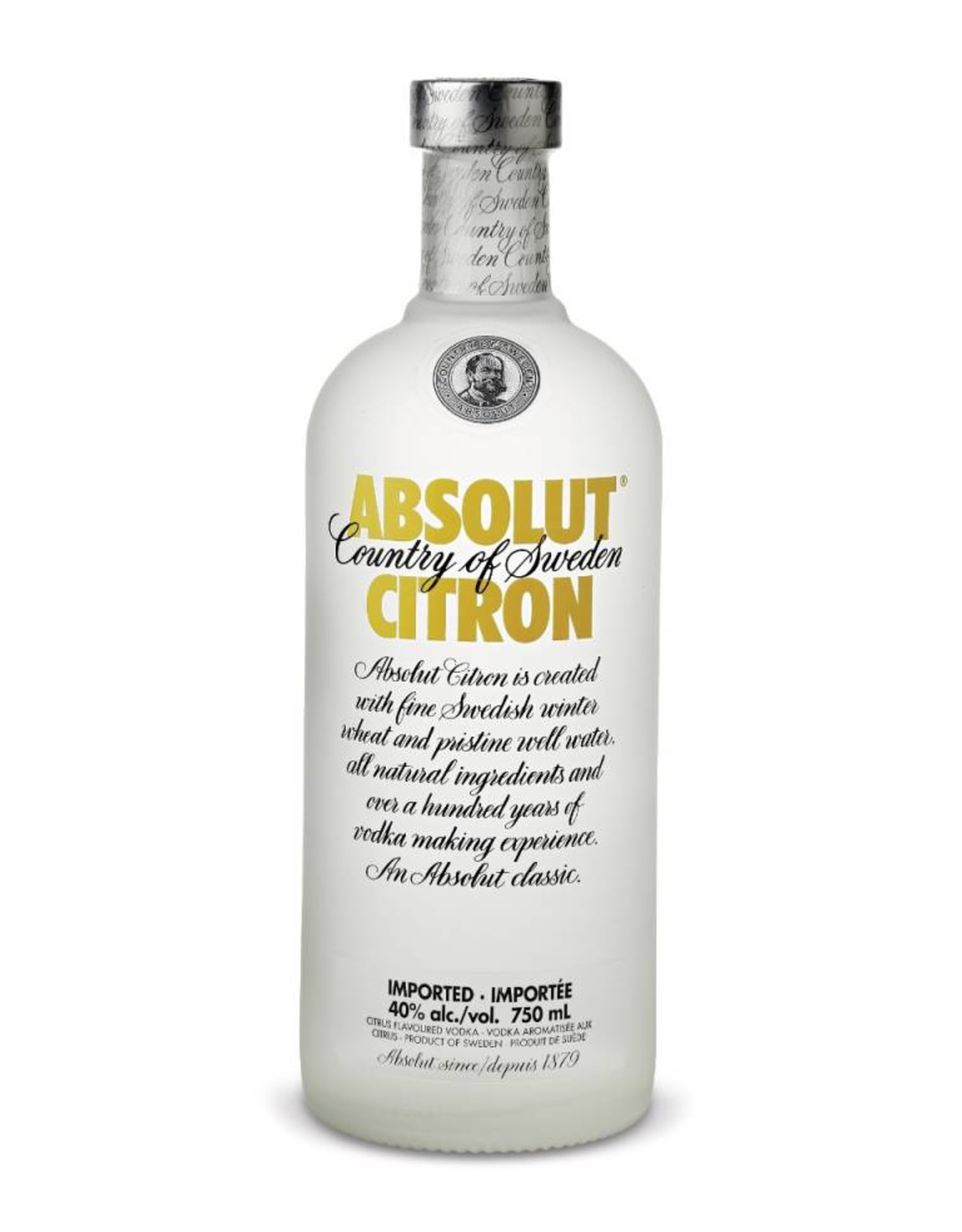 Absolut Citron, Vodka, 40%, 700 ml