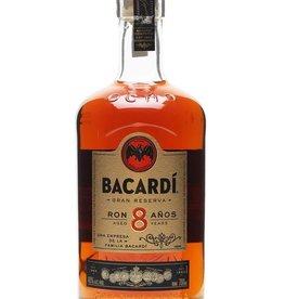 BACARDI, 8 Years, rum, 40%, 700ml