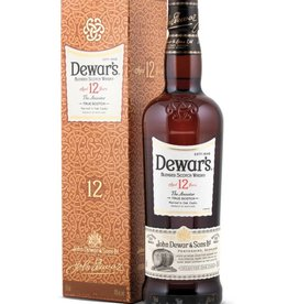 Dewars 12 Y blended whisky, Whisky, 40%, 700ml