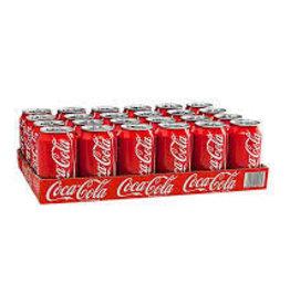 Coca Cola Original, Frisdrank, 24x330ml Blik Tray