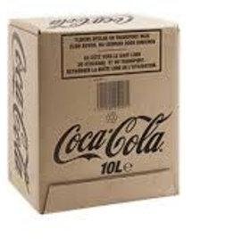 Coca Cola postmix, Frisdrank, 10 LT