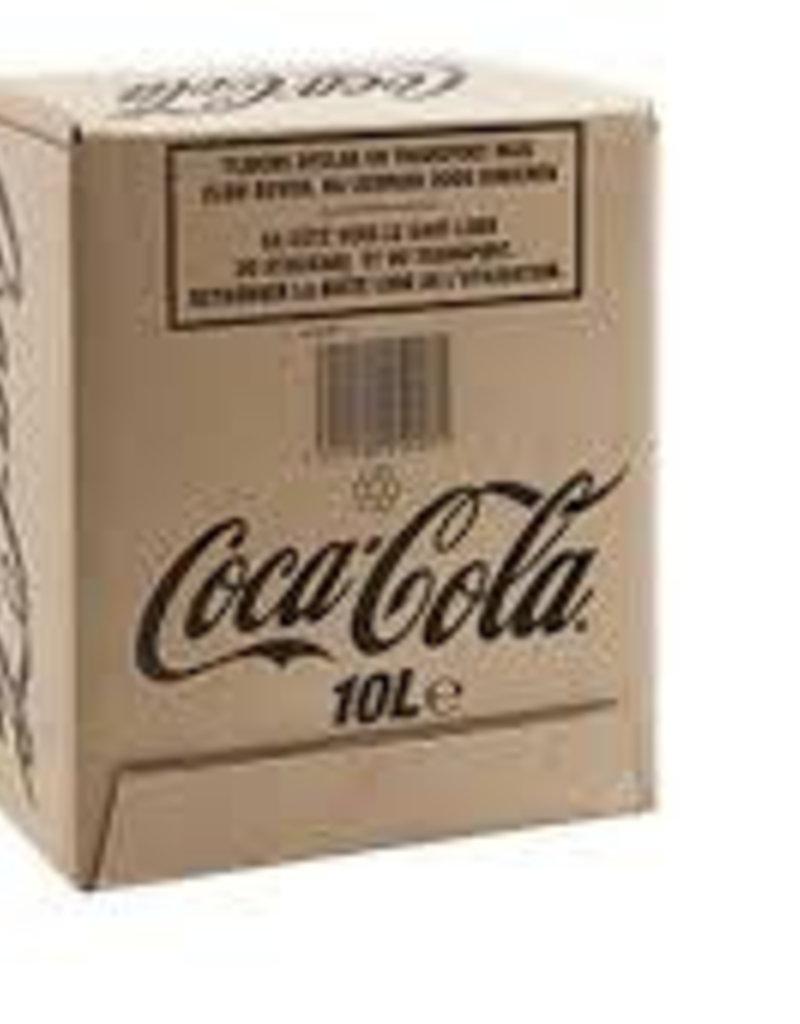 Coca Cola Statafel.Coca Cola Postmix Frisdrank 10 Lt