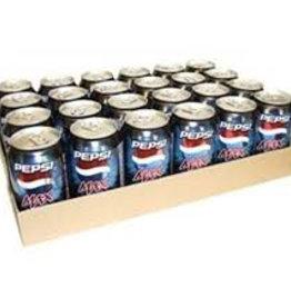 Pepsi Max, Frisdrank, 24x330 ml blik tray