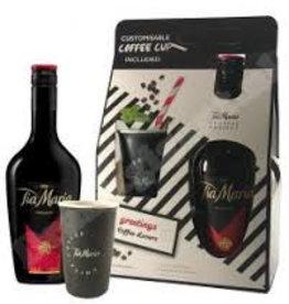 Tia Maria +2 glazen GB, Liqueur, 20%, 700ml