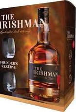 The Irishman Founders Reserve Whisky, 2 glazen, 40%, 700 ml