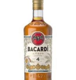 Bacardi Anejo 4 Cuatro, Dark Rum, 40%, 700 ml