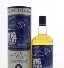 Big Peat 20 Y, The Dutch Edition, Single Malt whisky, 48%, 700 ml