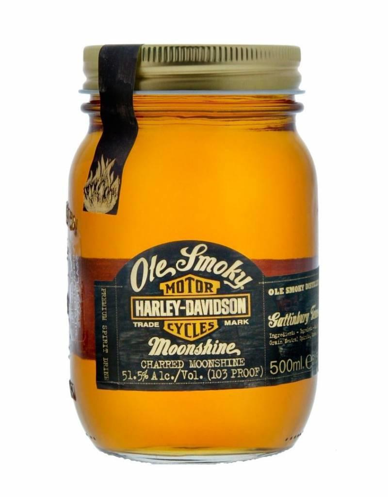 Ole Smokey Harley Davidson, Whisky, 51.50% 500 ml