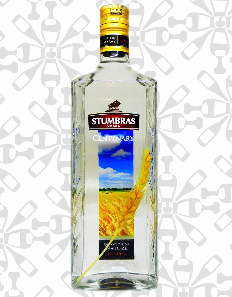 Stumbras centenary vodka, Vodka, 40%, 700ml