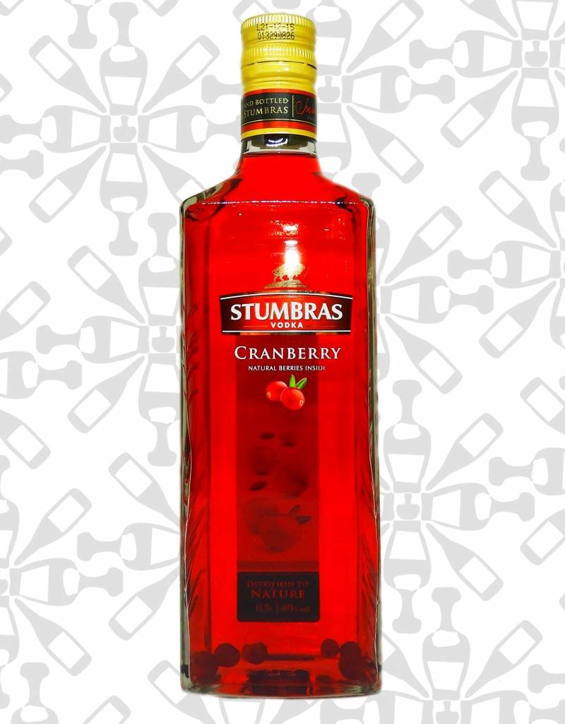 Stumbras cranberry, Vodka, 40%, 500ml