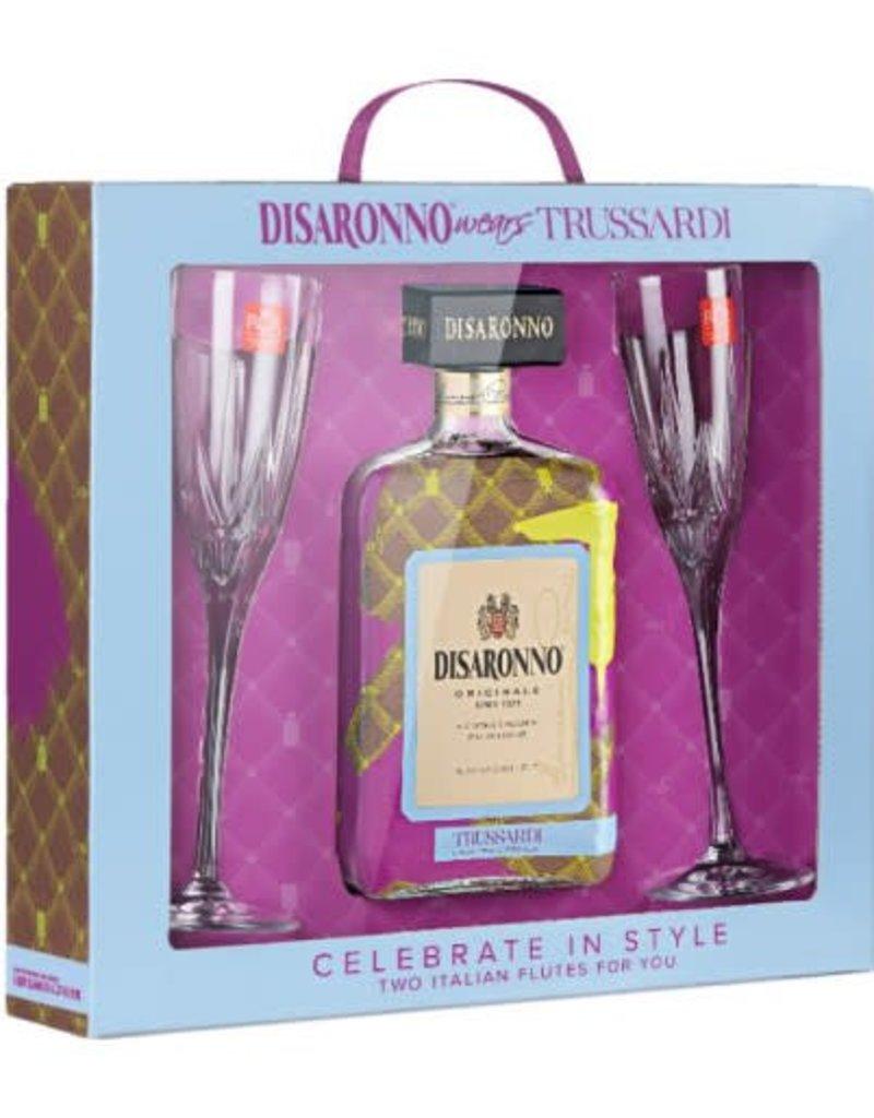 Disaronno Trussardi Liqueur GB+ 2 glas, 28%, 700 ml