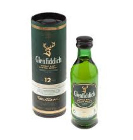 Glenfiddich 12, Whisky, Mini, 40%, 50 ml