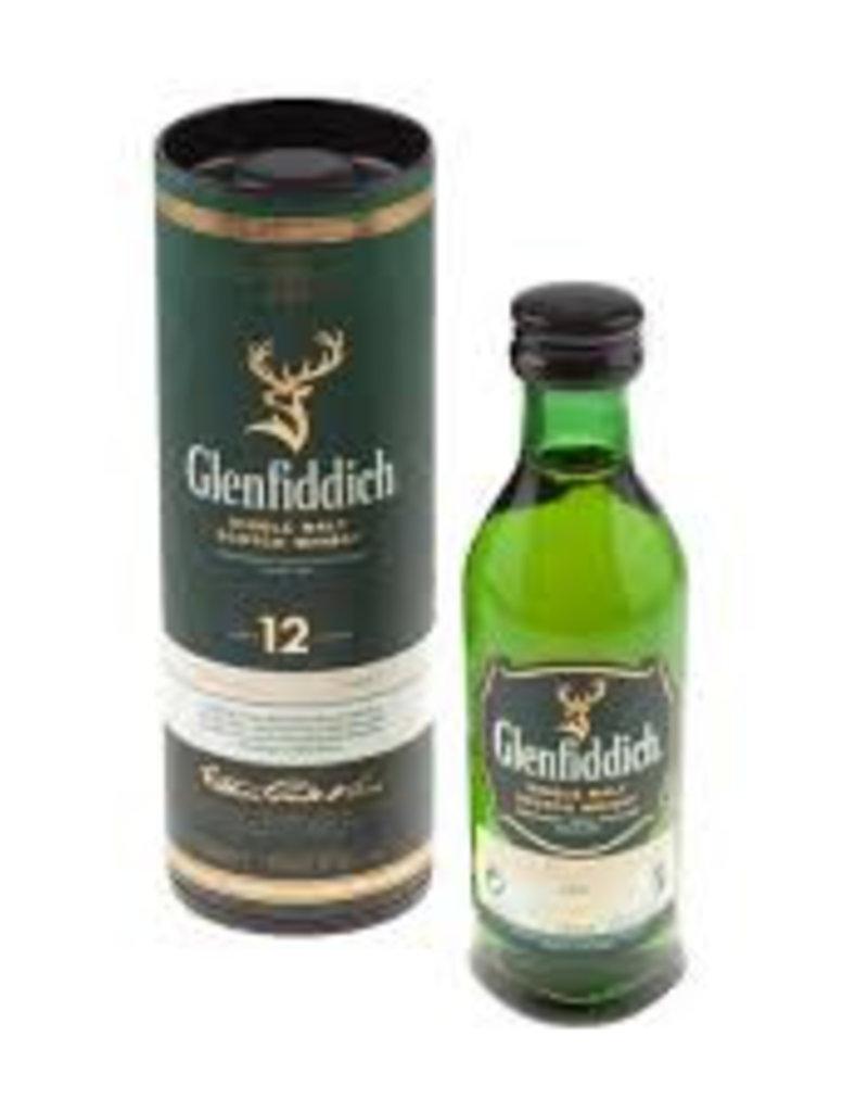 Glenfiddich 12, Whisky, Mini, 40%, 50 ml