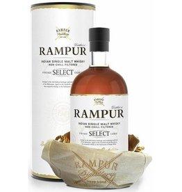 Rampur Indian Whisky, Single malt, 43%, 700 ml