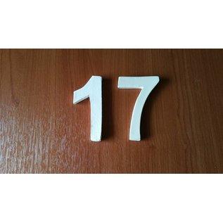 DBT Huisnummer 2 Keramiek