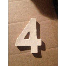 DBT Huisnummer 4 Keramiek