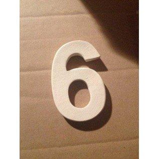 DBT Huisnummer 6 Keramiek