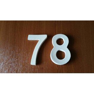 DBT Huisnummer 8 Keramiek