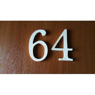 DBT Huisnummer 6, groot Keramiek