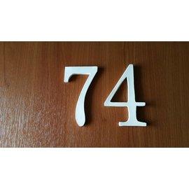 DBT Huisnummer 7, groot Keramiek