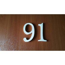 DBT Huisnummer 9, groot Keramiek