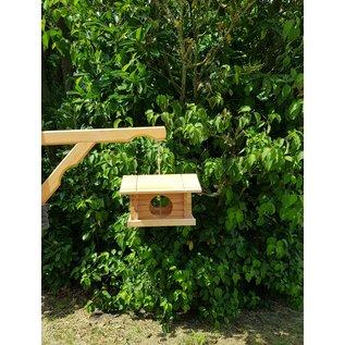 Muurhaak hout voor vogelhuisjes