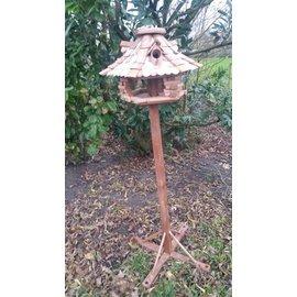 Voet voor vogel voederhuisjes d.bruin