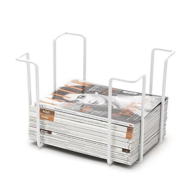 WE Design  Wit Tijdschriftenrek 25x33x26cm