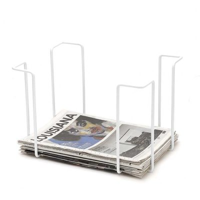 WE Design  Krantenrek Wit tabloid fotmaat 42x31x29cm