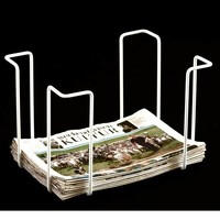 WE Design  Krantenrek tabloid Wit 42x31x29cm