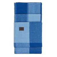 Simon Key Bertman Plaid Chess Blue
