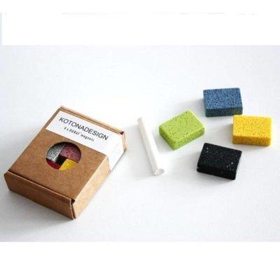 Kotona design  Magneten set - Durat 4 stuks assorti