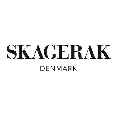 Skagerak Denmark Norr keukenrolhouder black FSC eikenhout met leer