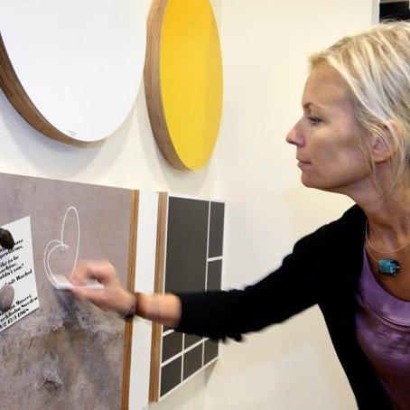 Magneetborden Fins design & hand made