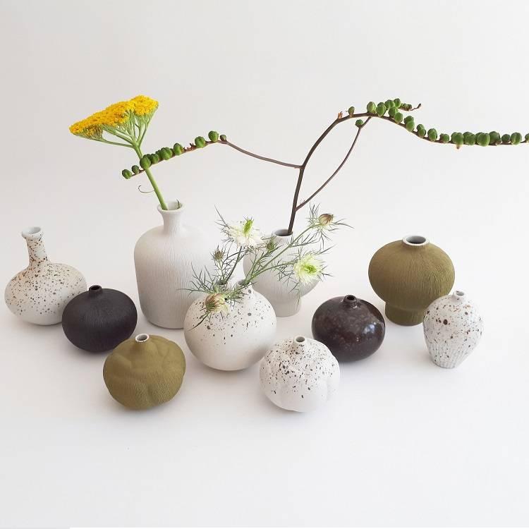 Lindform vaasjes - handmade