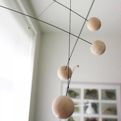 Flensted Mobiles Counterpoint nature 67x33cm handmade