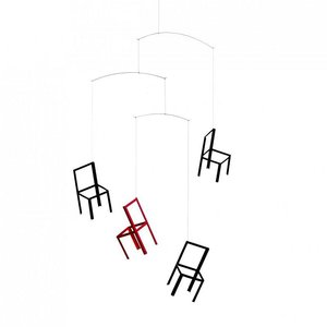 Flensted Mobiles Flying Chairs 55x40cm