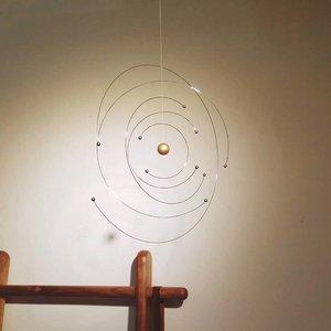 Flensted Mobiles Niels Bohr atoom mobile Ø27cm