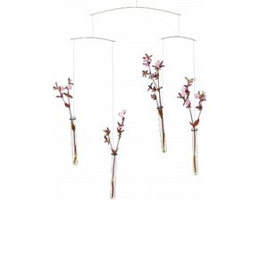 Flensted Mobiles Flying Flowers 58x42cm