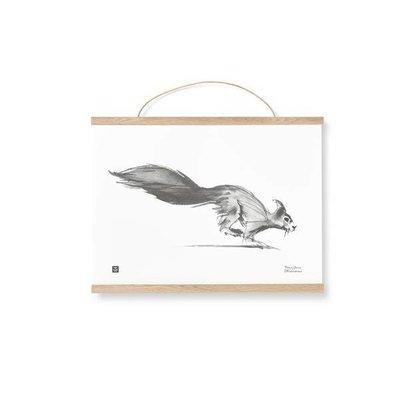 Teemu Järvi  Poster frames2 dlg eik/leer 40cm breed