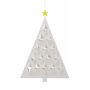 Flensted Mobiles Prismas Tree Wit 28x20cm